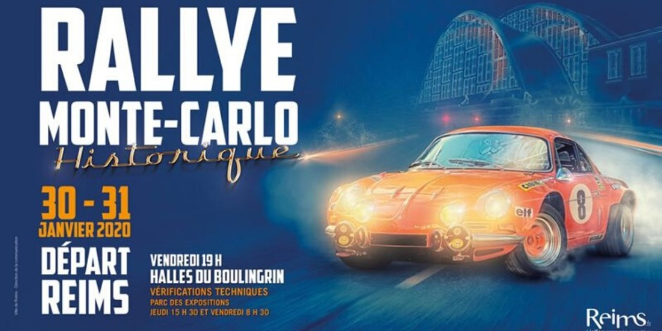 Rallye Monte Carlo Historique Reims