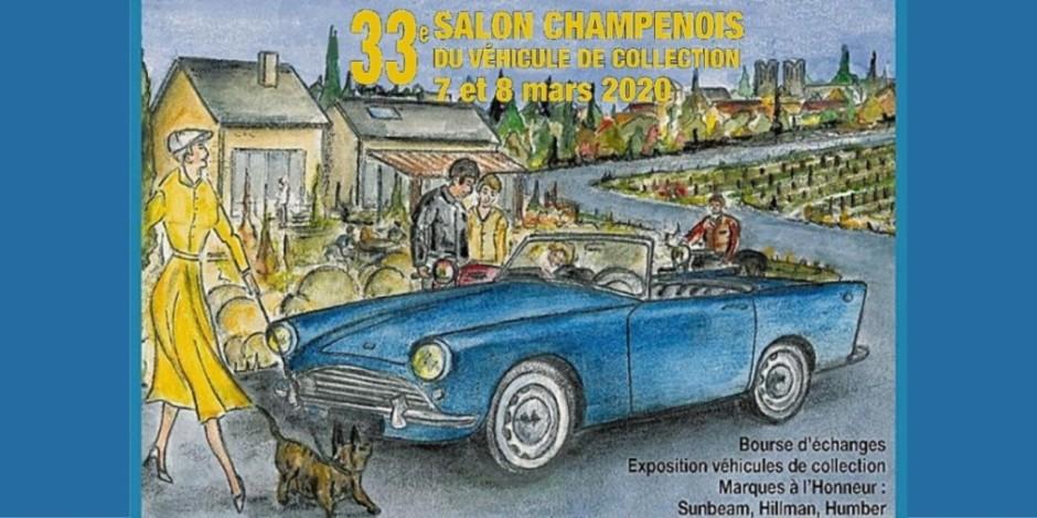 Salon Champenois - véhicules de collection - REIMS
