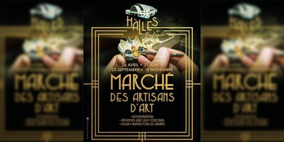 Marché des artisans d'art - Reims