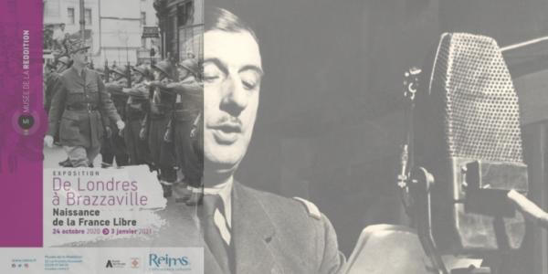 France Libre appel 18 juin 1940 musée reims exposition